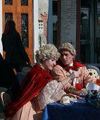 Medieval Venetian Couple