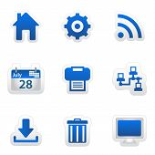 Blue android iconset