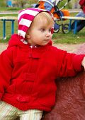 Little Girl Has A Rest poster