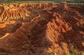 Tatacoa Desert Rock Formations