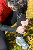 Sportsman Leg Fracture
