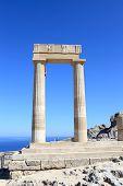 Columns Of Hellenistic Stoa