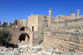 View Of Lindos Acropolis
