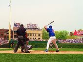 Carlos Zambrano Up To Bat