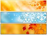 Web Seasonals Banners