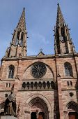 France, Church Of Obernai In Alsace