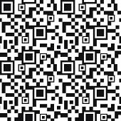 Fondo transparente código de QR