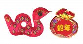 Year Of Snake Ornaments
