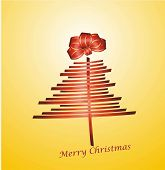 Christmas Tree With Gift Ribbon
