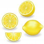 Limões, quatro modos de exibição