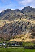 Langdale Pike Mountains