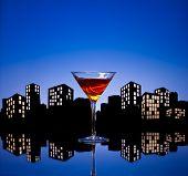 Metropolis Manhattan Cocktail