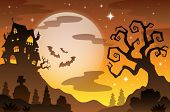 Halloween Thema Hintergrund 2 - eps10-Vektor-Illustration.
