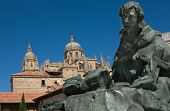 Saint John Of The Cross And Salamanca Cathedral