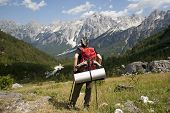 picture of incredible  - Hiking at incredible and extreme Albanian Alps - JPG