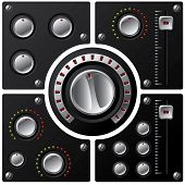 Hi-fi Knobs With Led 2