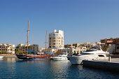 Sea Dock In Beautiful Jordanian Town.