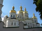 Assumption Church With Gold Domes