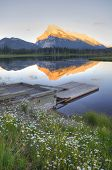 Vermillion Lake At Banff