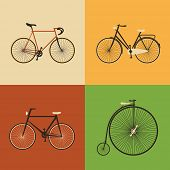 Retro Icons - Bicycle