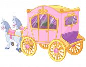 The carriage for true princess
