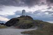 foto of anglesey  - Lighthouse at Dusk on Llanddwyn Island - JPG