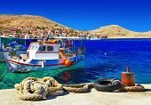 traditional Greece series -small fishing island Halki