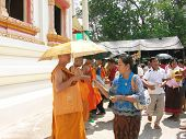The Ordination Of Monks In Thailand