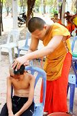Ordained Buddhist Monk
