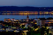 Jonkoping At Night. Sweden