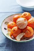 Mandarin Oranges in a Bowl