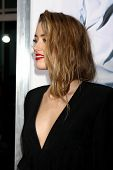LOS ANGELES - FEB 12:  Amber Heard at the