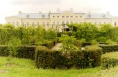 Rundale Palace and beautiful garden