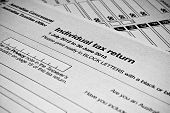 Australian Individual Tax Return Form