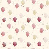 Balloons Seamless Texture