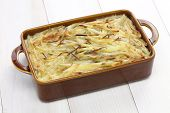 Janssons frestelse, Jansson�¢�?�?s temptation, swedish potato gratin with sprat fillets