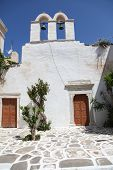 Church On Paros Island
