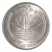 Two Bangladeshi Taka Coin