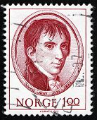 Postage Stamp Norway 1973 Jacob Aall, Politician