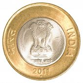 10 Indian Rupees Coin