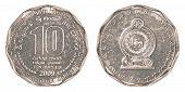10 Sri Lankan Rupee Coin