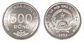500 Vietnamese Dong Coin
