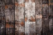 Old cracked wooden background