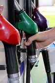 Gas Station Pump Nozzlehandles