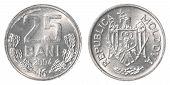 25 Moldovan Bani Coin