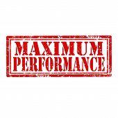 Maximum Performance-stamp