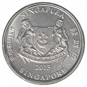 Singaporean Cent Coin