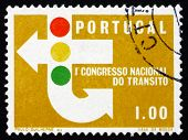 Postage Stamp Portugal 1965 Traffic Signs And Signals
