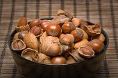 picture of brazil nut  - Mixed nuts  - JPG