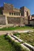 Thessaloniki 's castle known as Eptapyrgion Greece